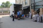 преместване на обзавеждане на административна сграда извън България