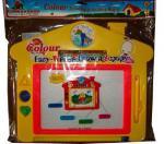 магнитна дъска 4цветна с печати