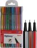 Тънкописци в комплект 10 цвята