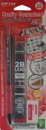 Автоматичен молив с графити и гумичка